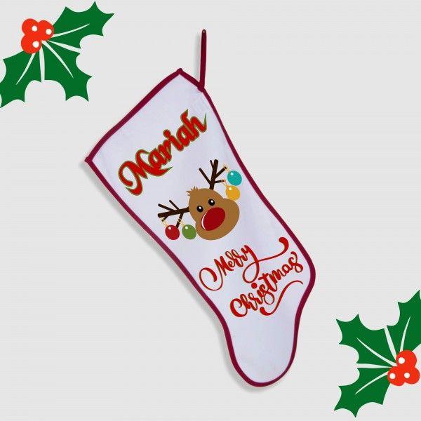 STK06-01 – Sublimation personalized Christmas Stocking Model