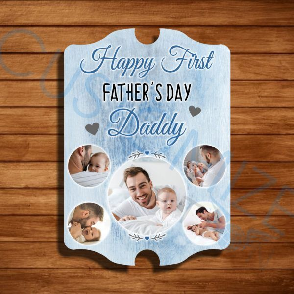PNL05-03 – Personalized Father's Day Collage Wall Pannel