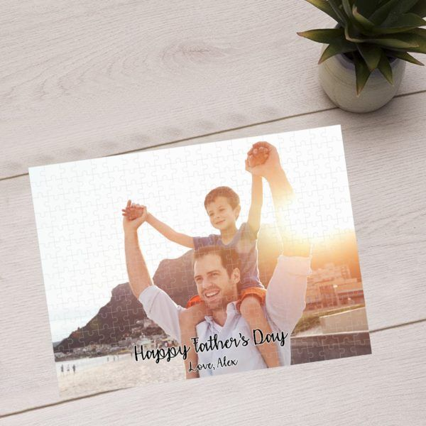 PZL06-02 – Father's Day, Customized Photo Puzzle