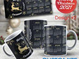 MUG83 – Christmas Calander Mug – Design2
