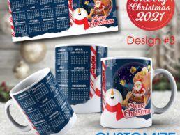 MUG83 – Christmas Calander Mug – Design3