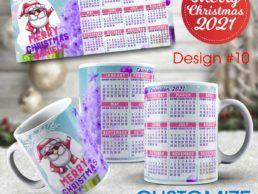 MUG84 – Christmas Calander Mug – Design10