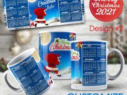 MUG84 – Christmas Calander Mug – Design2