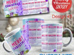 MUG84 – Christmas Calander Mug – Design3