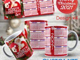 MUG84 – Christmas Calander Mug – Design4