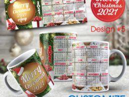 MUG84 – Christmas Calander Mug – Design5