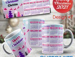 MUG84 – Christmas Calander Mug – Design7