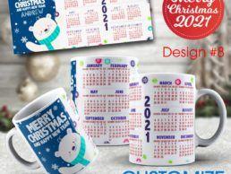 MUG84 – Christmas Calander Mug – Design8