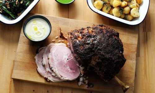 Recipe for the Festive Season | Roasted Green Gammon