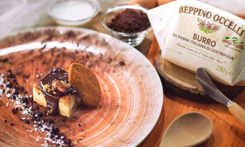 Beppino Occelli Torta Magica con Crema al Cioccolato