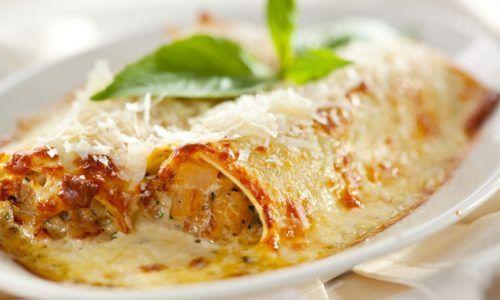 Rustichella d'Abruzzo Cannelloni al Salmone