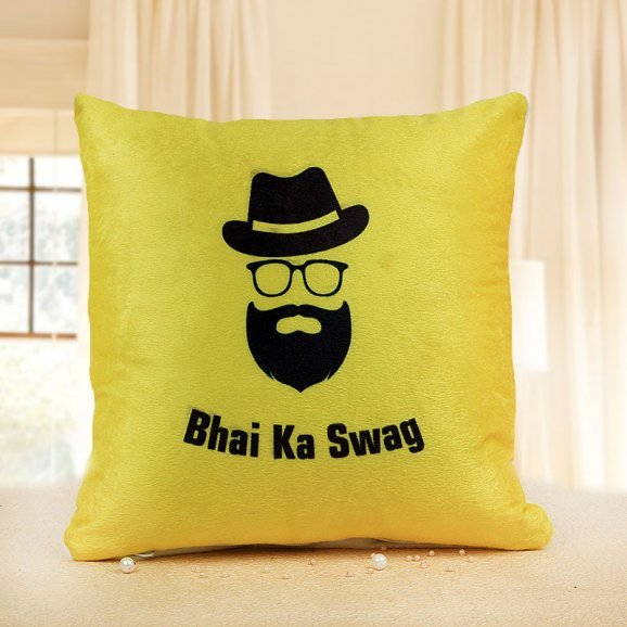 Bhai ka Swag Cushion