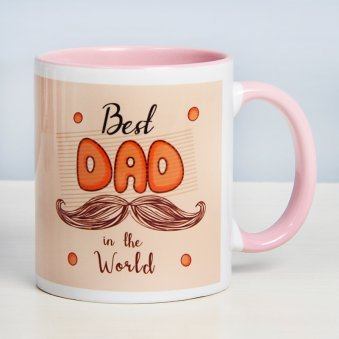 Love Redefined Mug for Father with Front View