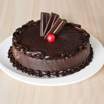 Chocolate Truffle Cake Freshly baked die for - for online delivery in Chennai