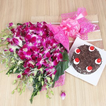 Midnight Delivery Cake Flowers And Gifts