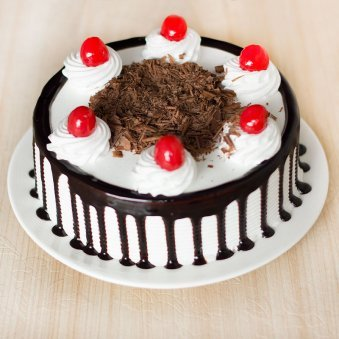 For Online Delivery In Bangalore Luscious Black Forest Cake