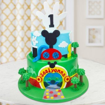 Mickey Mouse Cake For Children