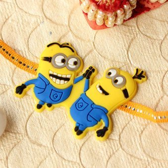 Minion Love Rakhi for brothers online