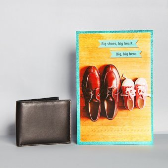 Greeting Card and Wallet Combo for Dad