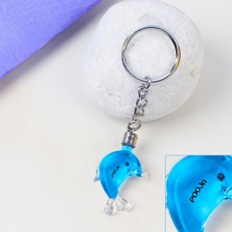 Shade Of Happiness - Personalised Rice Grain key Chain