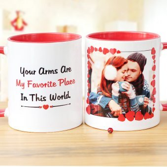 Favorite Place Personalised Mug with Both Sided View