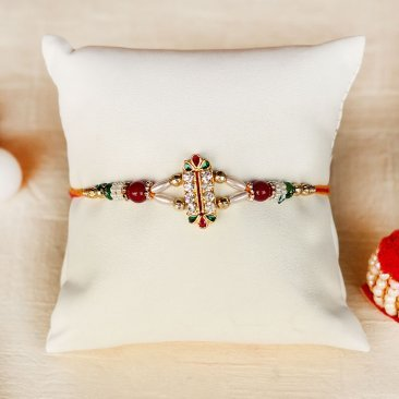 Amazing Gemmed Rakhi For brothers online