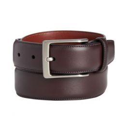 Portfolio Men's Leather Amigo Dress Belt-4137694-burgundy-42