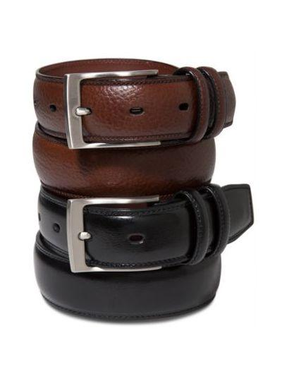 Portfolio Men's Leather Belt