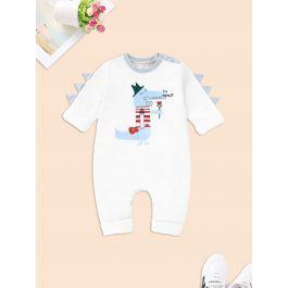 Baby Cartoon Print Romper