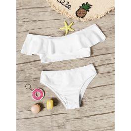 Toddler Girls Flounce Bikini Set