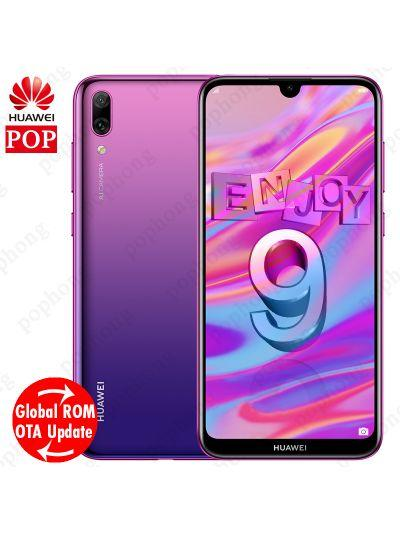"Global Rom Huawei Enjoy 9 Mobile Phone 6.26"" Android 8.1 Octa Core Huawei Y7 Pro 2019 Smartphone 4000mAh Dual Card Dual Stand"