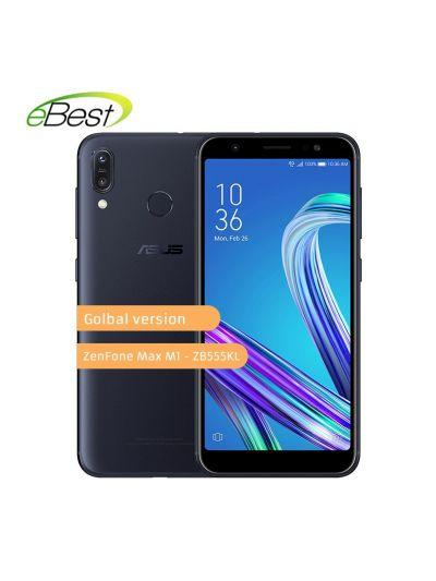 ASUS ZenFone Max M1 ZB555KL 4G LTE Smartphone Android 8.0 5.5 Inch 4000mAh Battery Dual Rear Camera 13MP+8MP Mobile Phone