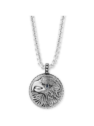 EFFY® Men's Black Spinel Eagle 22