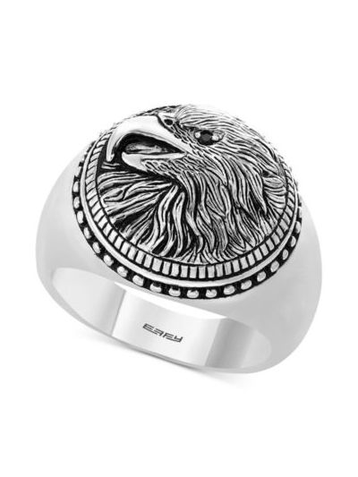 EFFY® Men's Eagle Ring in Sterling Silver
