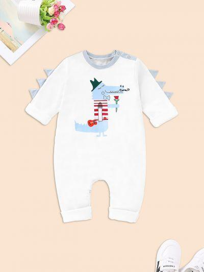 Baby Cartoon Print Romper