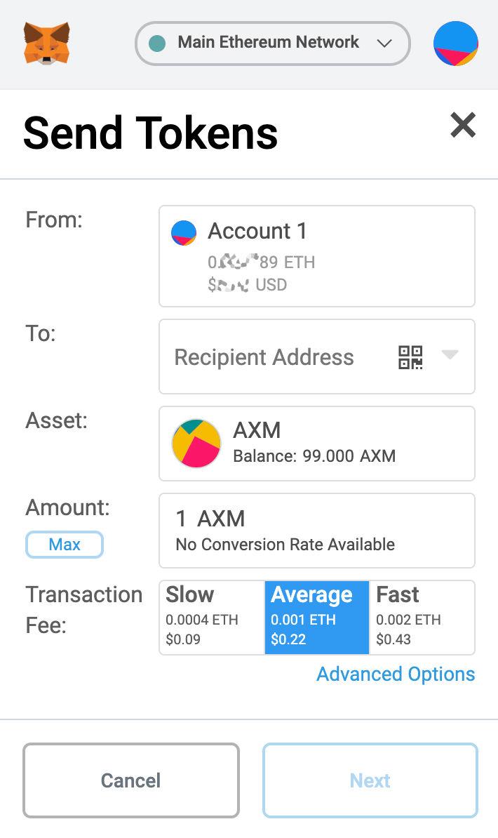 Trade your own ERC20-Token