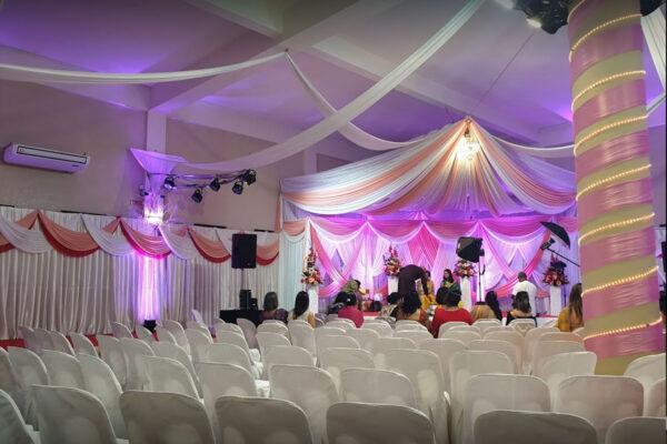Dhanush Wedding Hall Nouvelle France Mauritius Interior