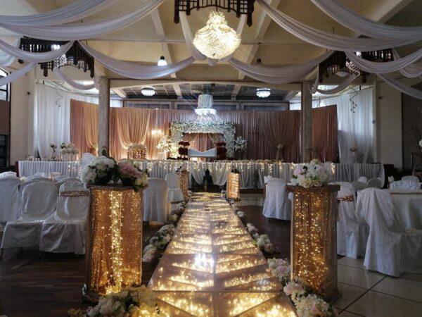 Domaine Reets Banquet Hall Mauritius Interior