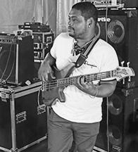 Julio Bass Guitar Player Mauritius