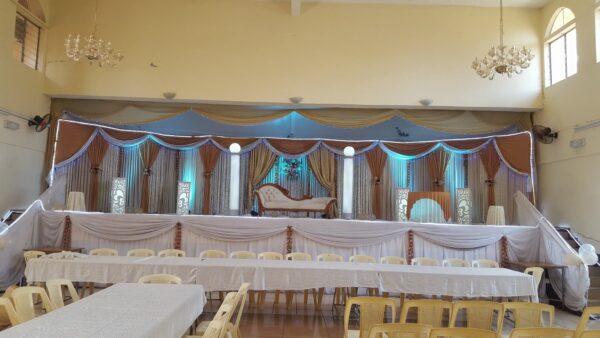 Rabita Hall Muslim Wedding Hall Port Louis Decor