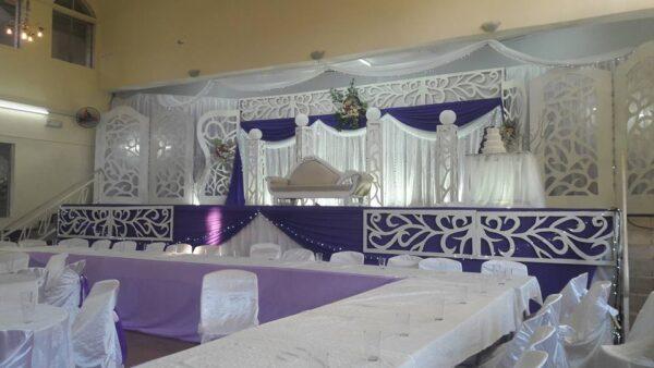 Rabita Hall Muslim Wedding Hall Port Louis Decoration