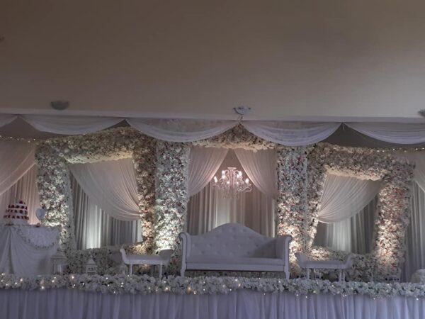 Rabita Hall Muslim Wedding Hall Port Louis Interior