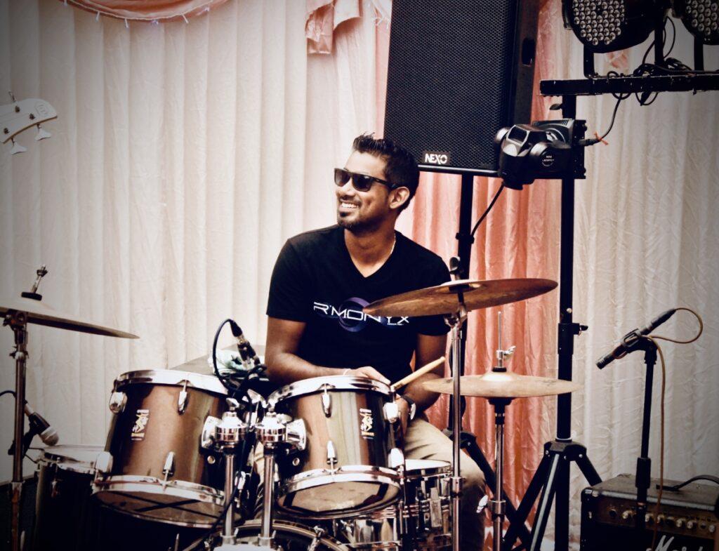 Rmonyx Wedding Live Music Band Mauritius Drummer