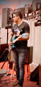 Rmonyx Wedding Live Music Band Mauritius Yuhan Guitarist