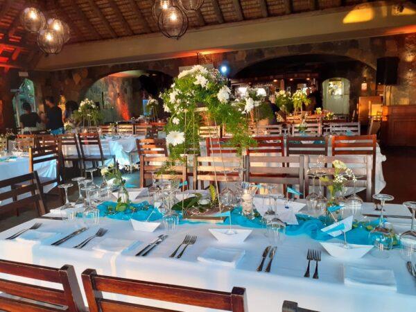 Casela Nature Park Wedding Venue Mauritius Reception Area
