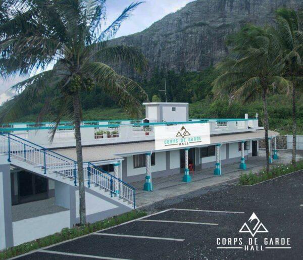 Corps De Garde Wedding Hall La Source Quatre Bornes Outdoor