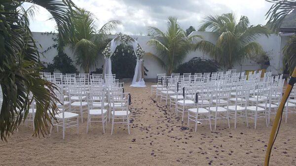 Domaine Izi Wedding Banquet Hall Bambous Mauritius Beach Wedding