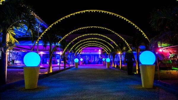 Domaine Izi Wedding Banquet Hall Bambous Mauritius Entrance