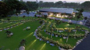 Golden Venue Flacq Mauritius Aerial View