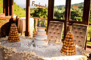La Vallee Des Couleurs Nature Park Restaurant Ceremony Wedding